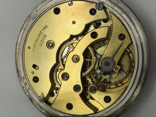 Starožitné 2 plášťové stříbrné ( Nielo ) hodinky Chronométre Gété ... ee5cdb7ca4