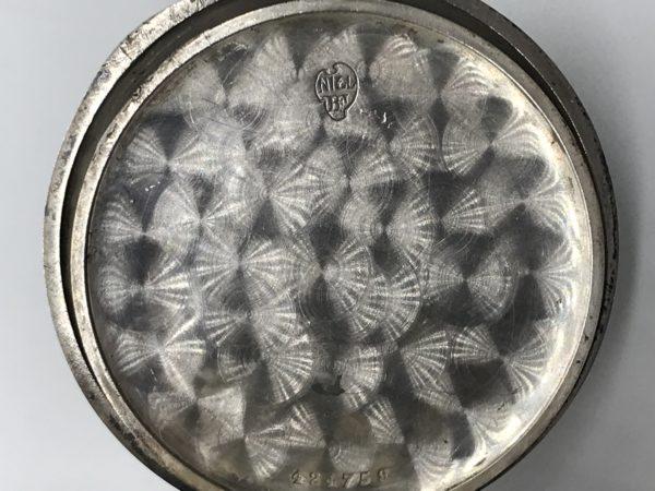 Starožitné 2 plášťové stříbrné ( Nielo ) hodinky Tavannes Watch ... 4258c17f41