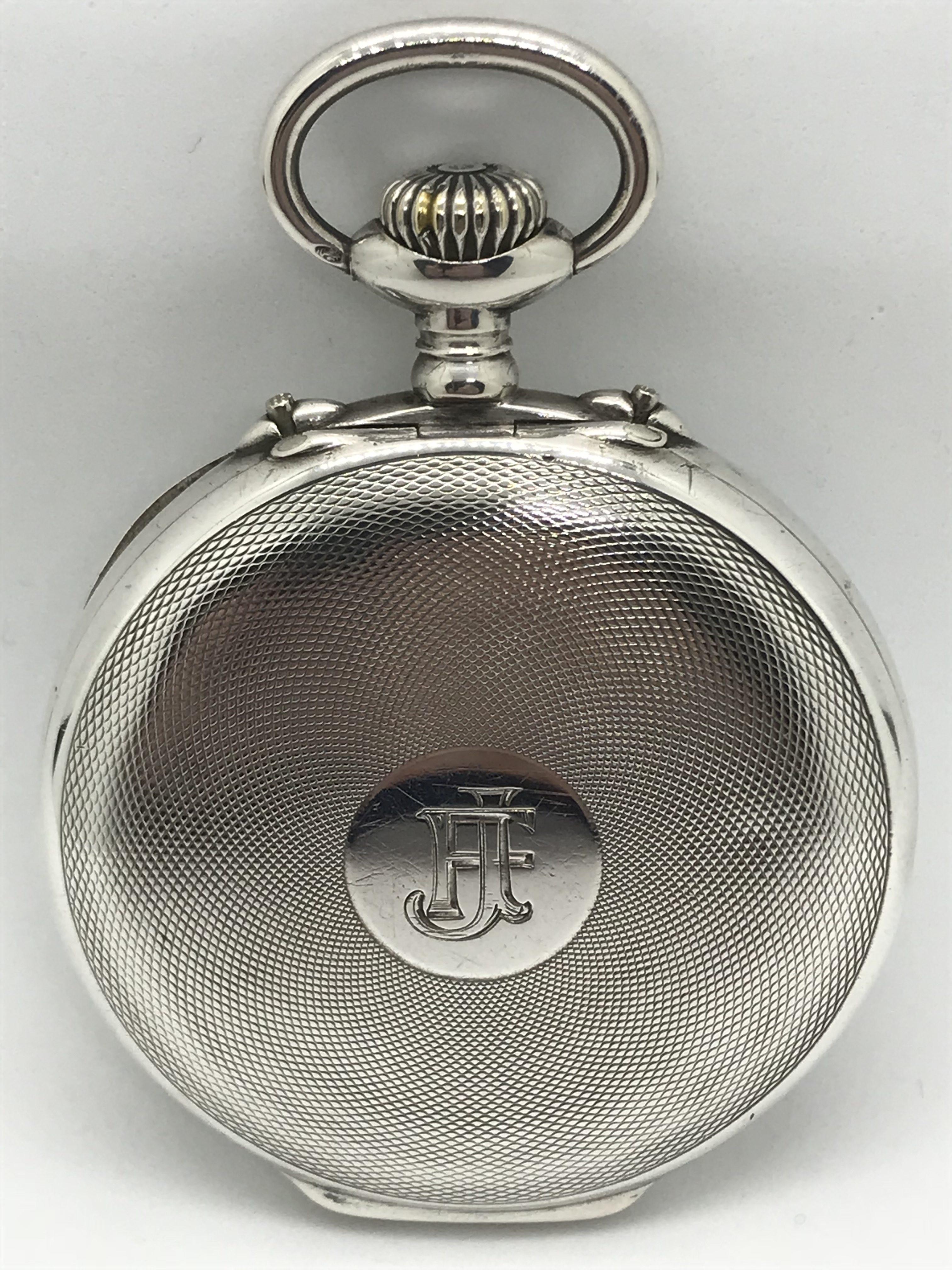 Domů Kapesní hodinky Starožitné 2 plášťové stříbrné hodinky Zenith s budíkem.  Previous f55fbc7fb6