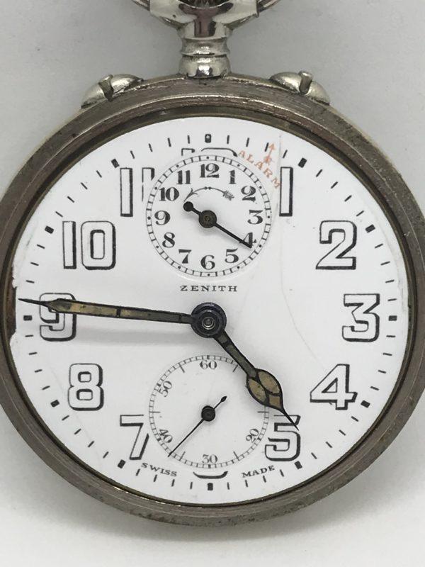 Domů Kapesní hodinky Starožitné 2 plášťové ( nickel chrom ) hodinky Zenith  s budíkem. Previous. Next 91fd6edee6