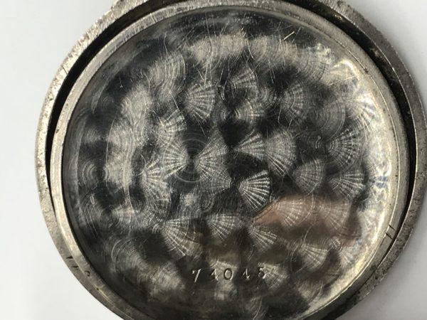 Starožitné 2 plášťové ( nickel chrom ) hodinky Zenith s budíkem ... 250deb6b49