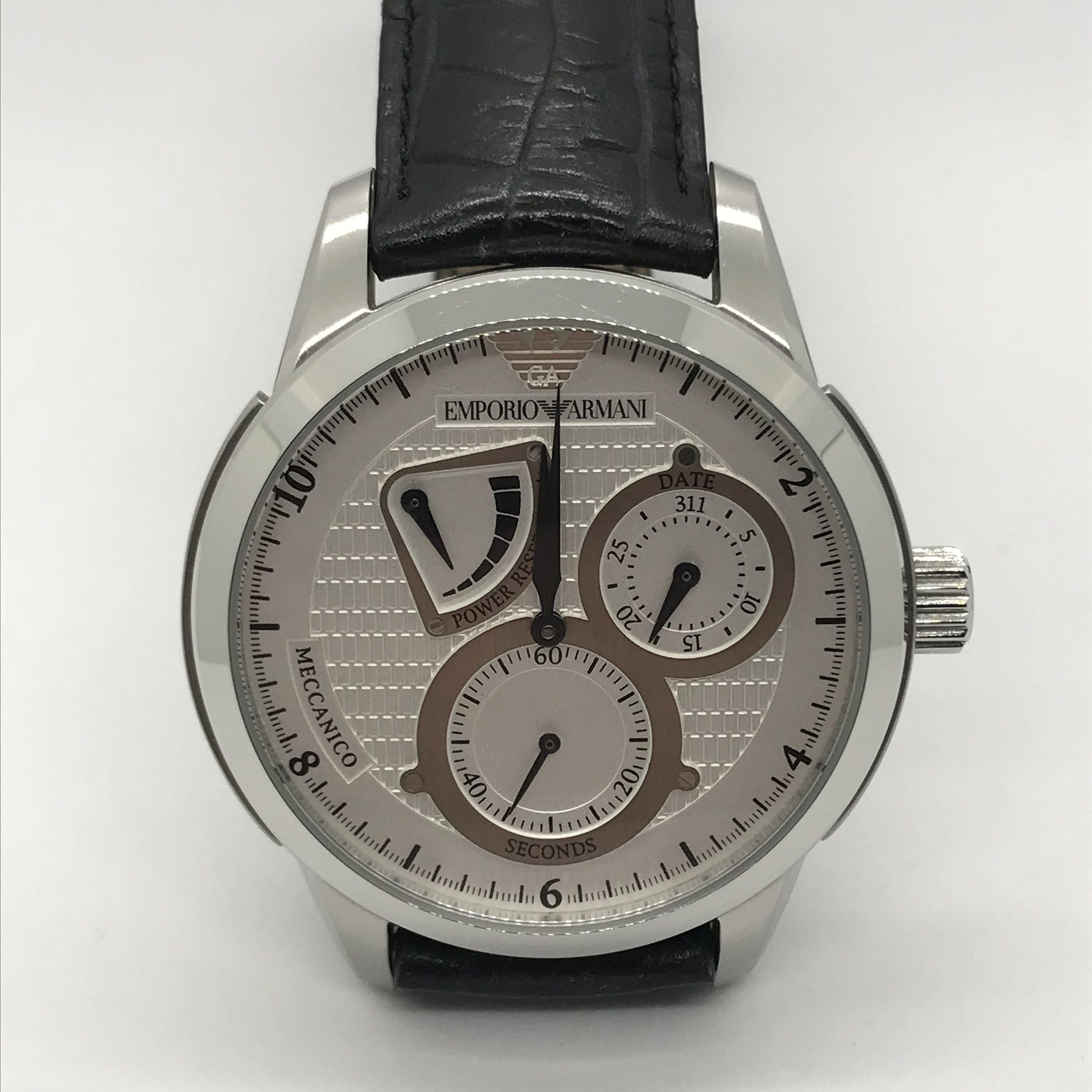 7acfe22dc5d Náramkové ocelové hodinky Emporio Armani
